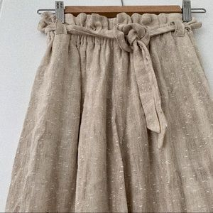 Boutique Tan Wide Leg Pants